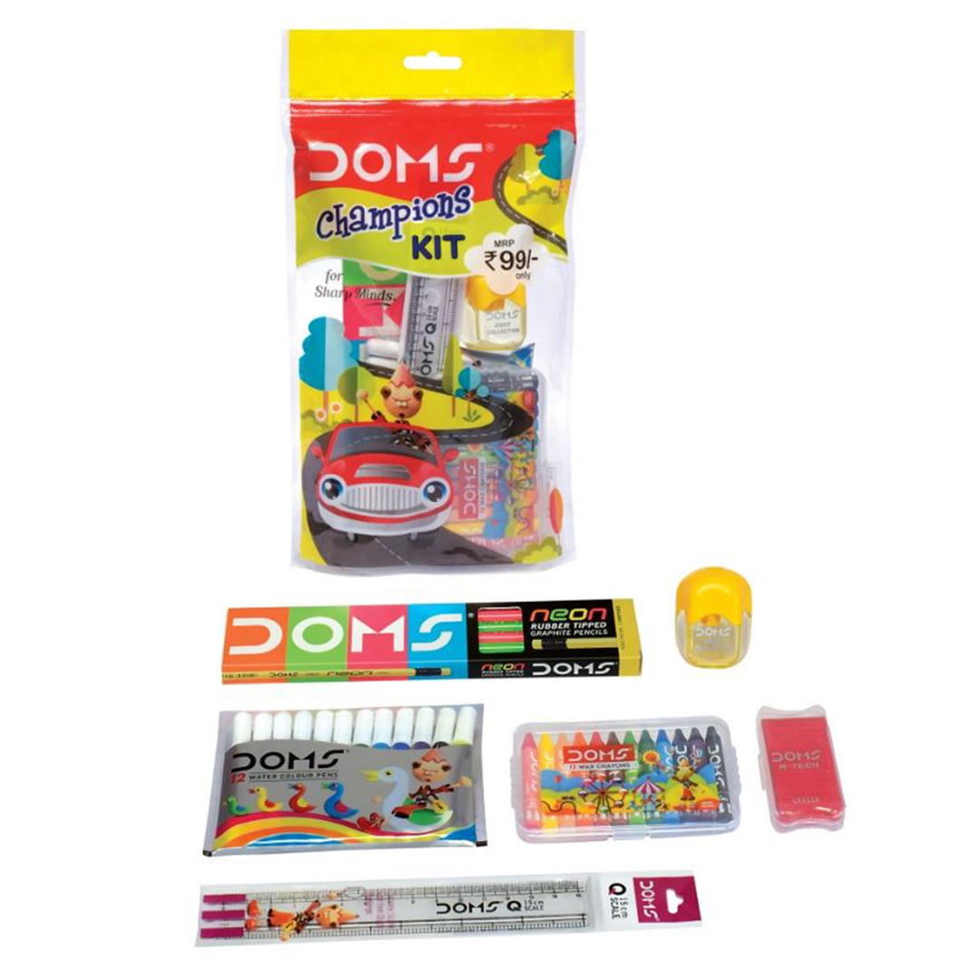 Doms Champion Art And Craft Kit Pack of 6