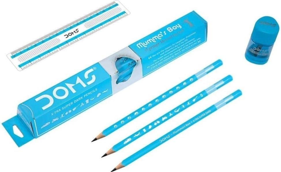 Doms Mumma's Boy Pencil Pack of 10 Pencils