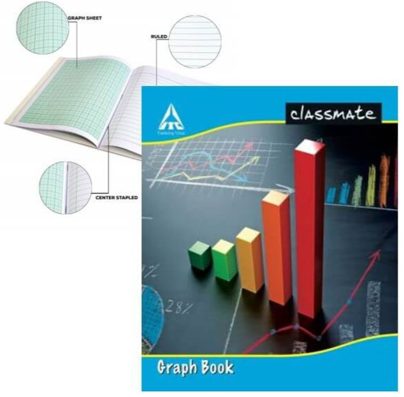 Classmate Graph Book 32 Pages Soft Cover 19X16 cm Pack of 1