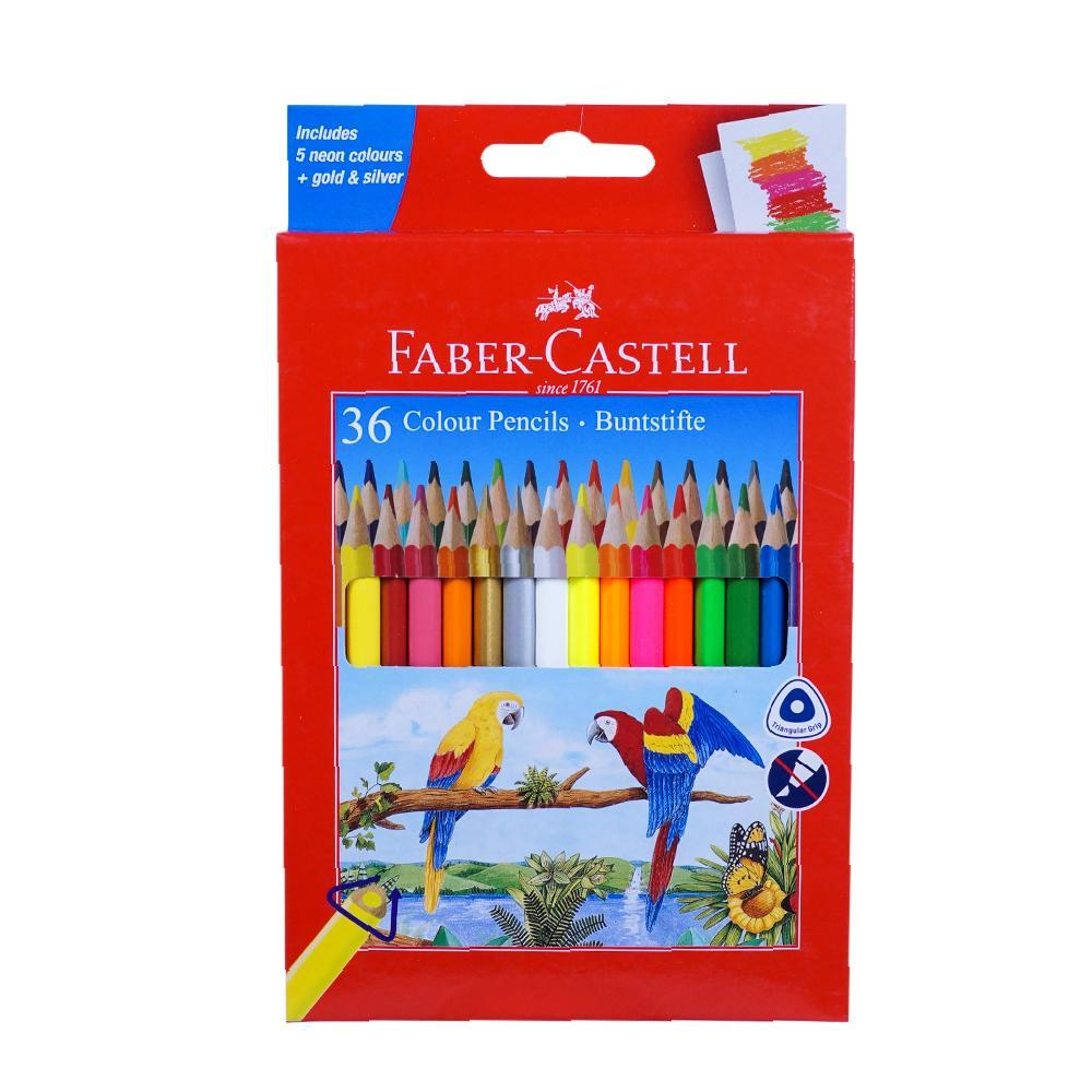 Faber Castell Colour ME Grip Colour Pencil Pack of 36