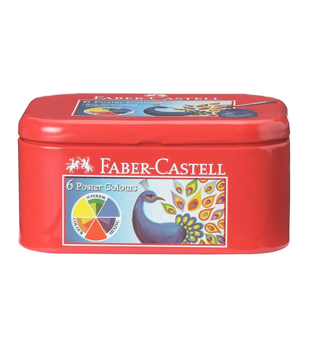 Faber Castell Poster Colours Set of 6 Shades