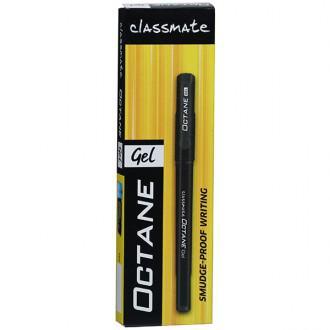 Classmate Octane Gel Pen- Black Pack of 1 Monobox