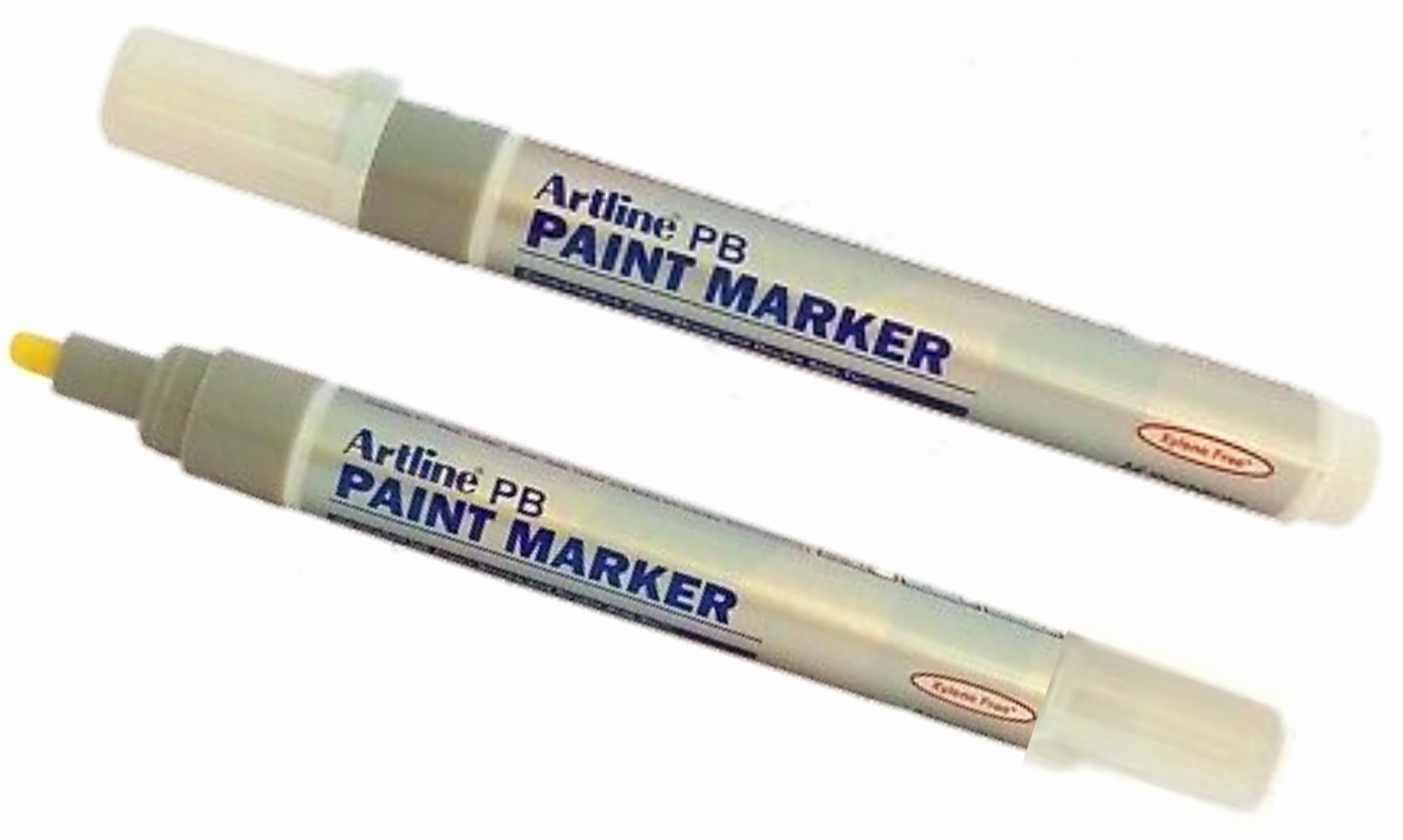 Artline PB Paint Marker White 2.3 mm Tip Pack of 1