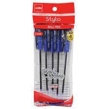 Cello Stylo Ball Point Pen 0.7 mm Blue Pen 1 Pack of 5 Pen