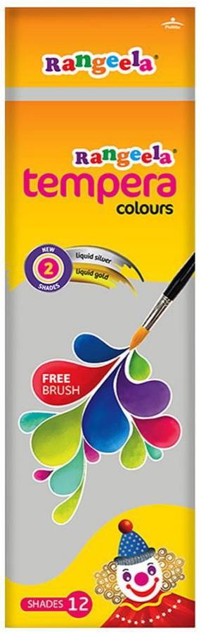 Pidilite Rangeela Student Tempera Color 36 ml (12 Shades)