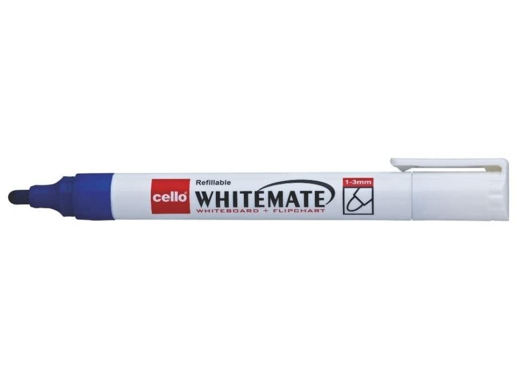 Cello Whitemate Pen White Board Marker Pen Blue Colour Pack of 1