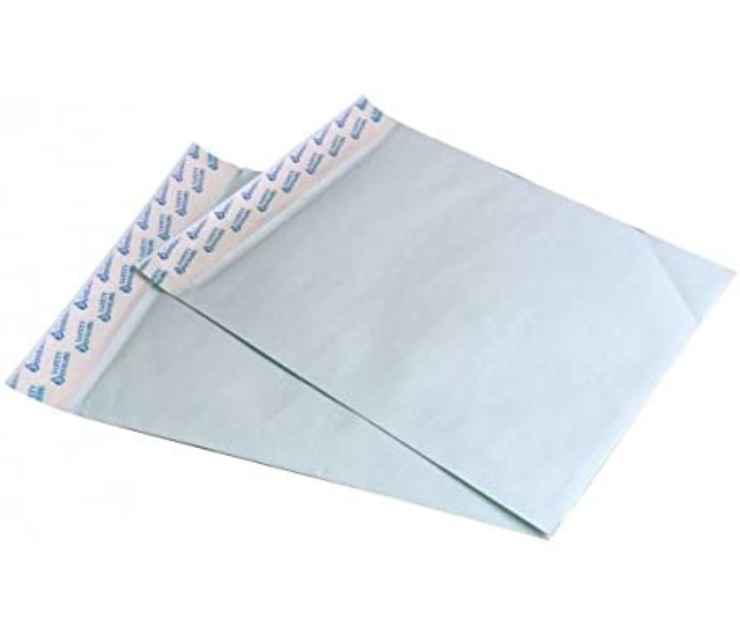 "Saya Green Polynet Lined Envelopes, 14""X10"" ( 35X25 cm), Pack of 10"
