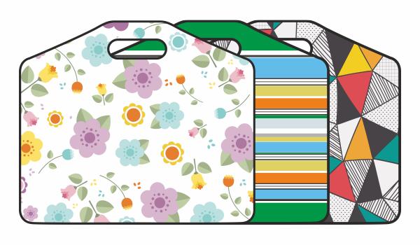 Saya Printed Handle Bag , High Quality, SY - 0741, Pack of 1