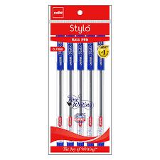 Cello Stylo Ball Point Pen 0.7 mm Blue Pen 5 Pack of 5 Pen 25 Pen