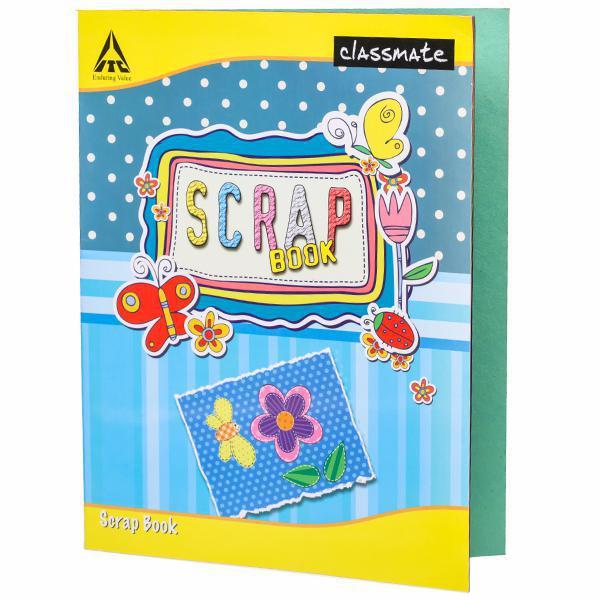 Classmate Scrap Book Soft Cover 32 Pages 28X22 cm Unruled(Plain) Pack of 1