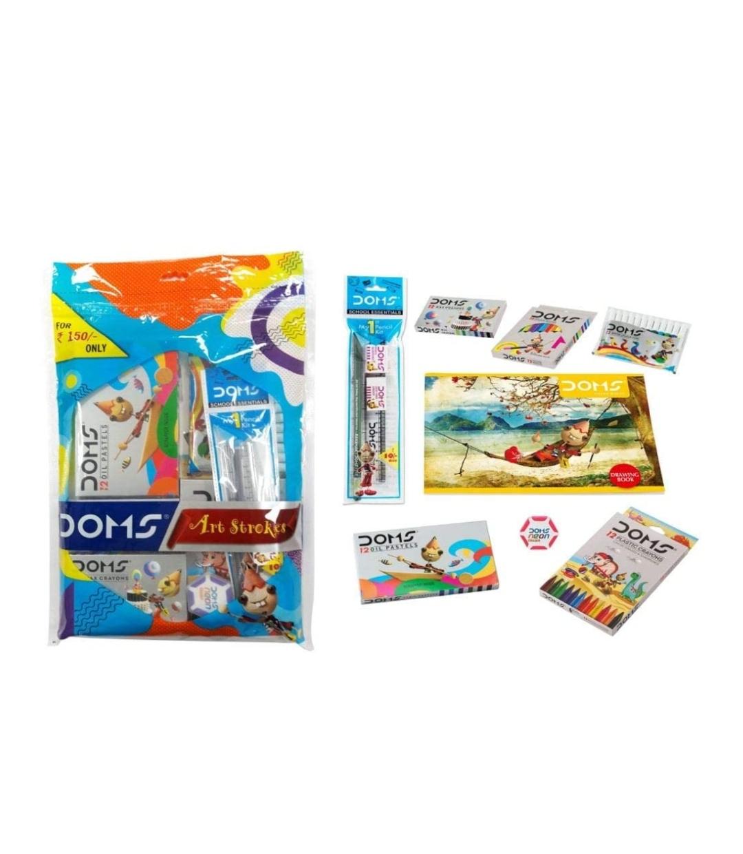 Doms Art Strokes Kit Pack of 8