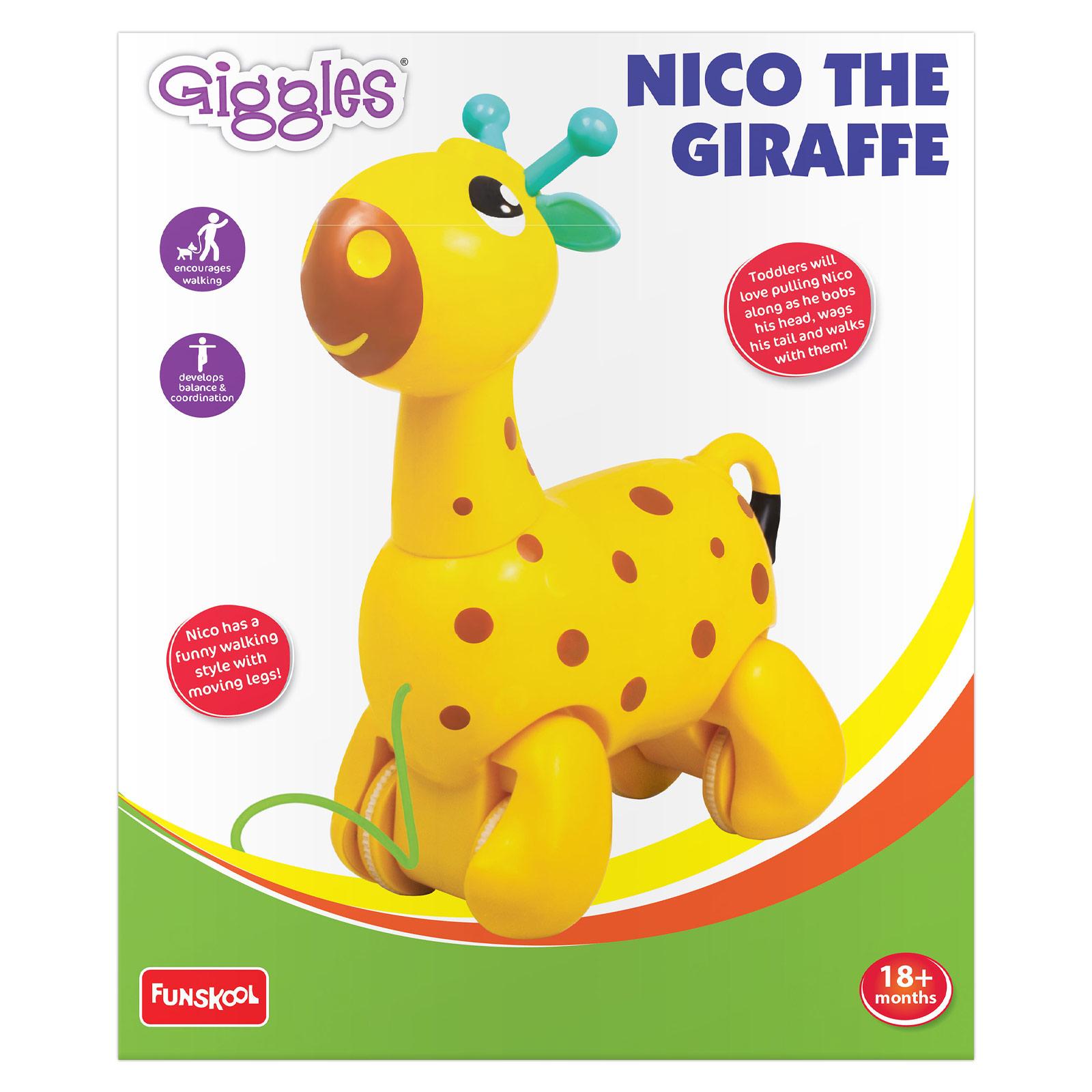 Funskool Giggles Nico the Giraffe Yellow