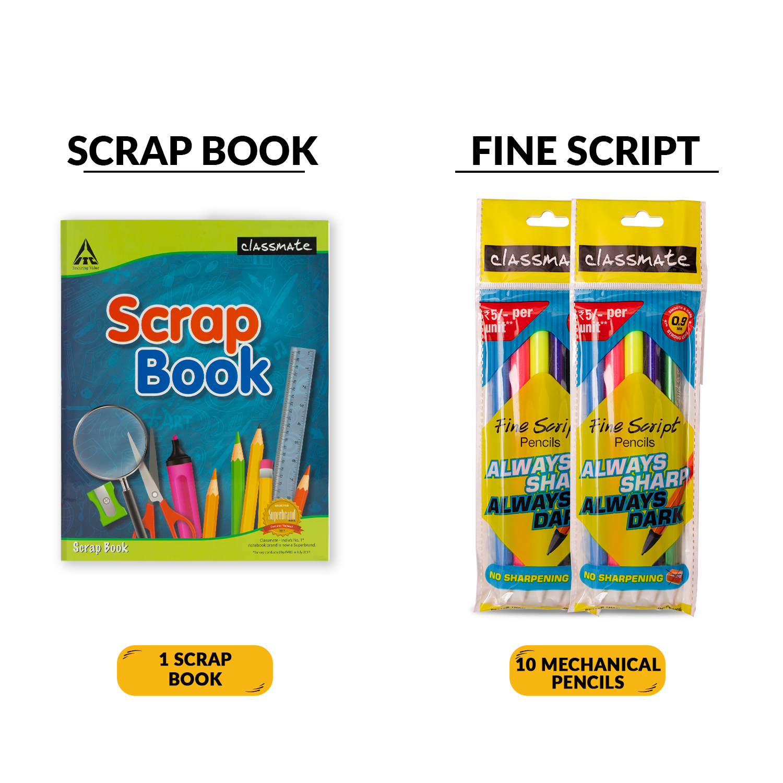 Classmate Stationery Bag Kit, 16 Item Pack
