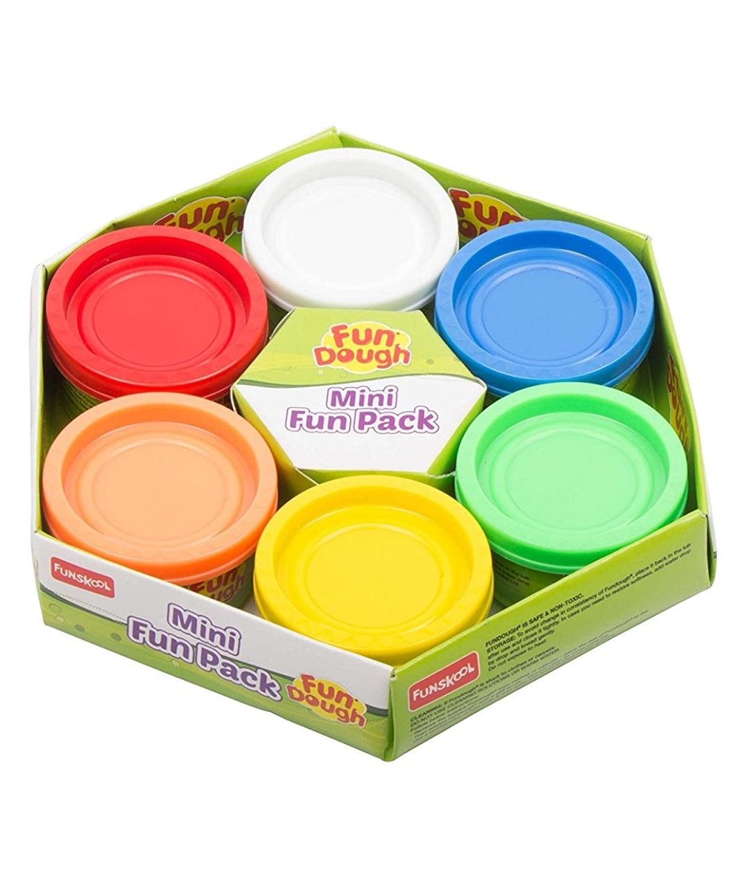 Funskool Fundough Mini Fun Pack MutiColour